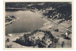 Gammal bild över Lagunens område.