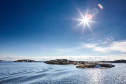 Utsikt över kobbar i Kosterhavet utanför Strömstads kust.
