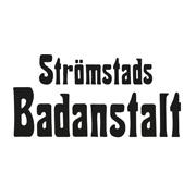 Logotyp för Strömstads Badanstalt.